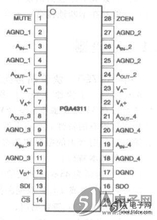 带音量控制ne5532电路图