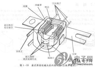 录音机磁头放大电路图