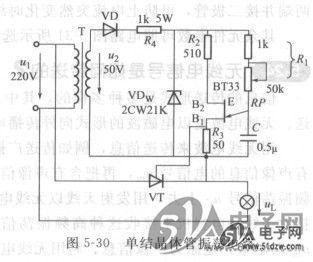 降压变压器tr可以用成品或自己用漆包线绕制,功率在12w左右.