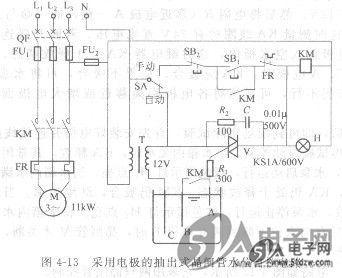 采用电极的功率开关集成电路水位控制电路