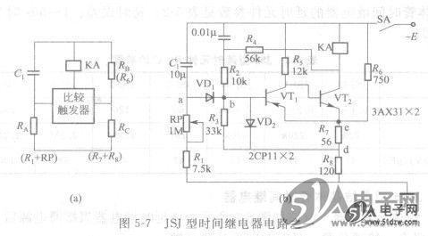 减速型缓齿合启动继电器接线图