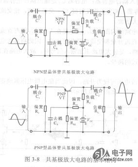 由共射极放大电路构成的共射极晶体管放大器常作为电压放大器来