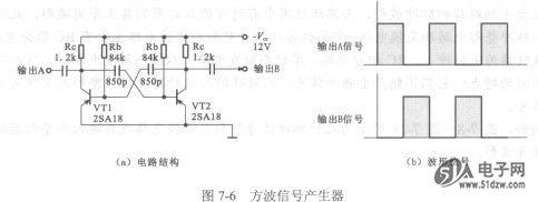 多谐振荡器-技术资料-51电子网