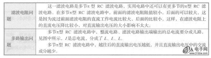 3.多节π型rc滤波串,并联电路