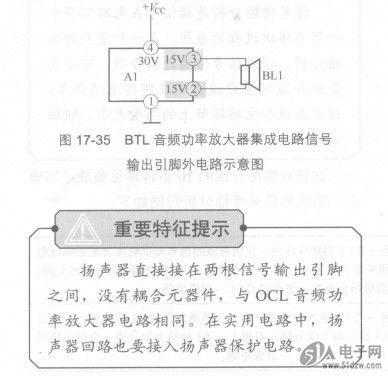 btl音频功率放大器集成电路信号