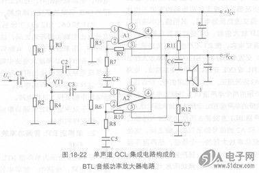 音频功率放大器集成电路分析