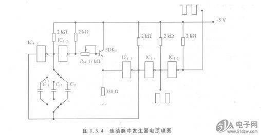 电源电路原理图如图1.3.3所示。降压变压器B将交流220 V电压转变为一路11 V输出和一个带中心抽头的30 V交流电压。 B5819WS 交流30 V电压送入Di~D。组成的整流桥,再经C,和C2滤波变为平滑的直流电压。中心 抽头与串联的C.和C。电容的中心点相接,形成直流电压的中心点,也就构成了以此为参考点的正负电压输出。7812和7912是三端稳压集成电路。7812可输出+12 V电压;7912输出一 12 V电压。C。和C。为输出端并接的滤波电容,可使输出直流的纹波进一步衰减。Ds和D6是保护二