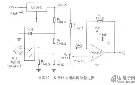 电与电子测量技术_热电阻测量原理图【相关词_热电阻测量原理】_捏游