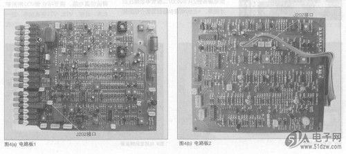 使用4127组装的对数转换电路