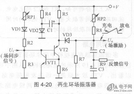 电路中vt1和vt2构成正反馈开关电路,当这一电子irf530npbf开关处于