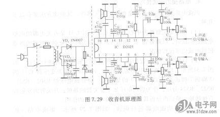 30所示,可按照:电源供电(多路)电路,振荡电路,复位电路,遥控开/关机电