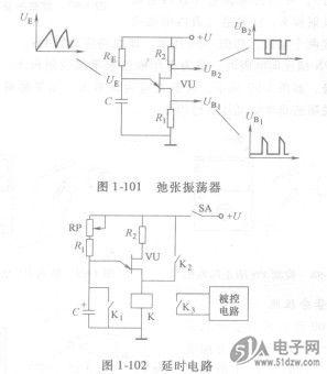 单结晶体管可以用作延时电路