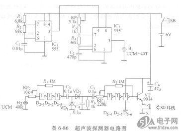 晶体三极管vt构成的射极跟随器