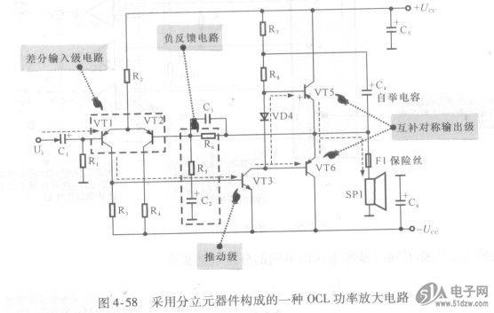 练会互补对称功率放大电路的识图方法