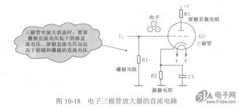 电子管放大器直流电路分析图片