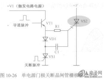 单电源门极关断晶闸管栅极驱动电路分析