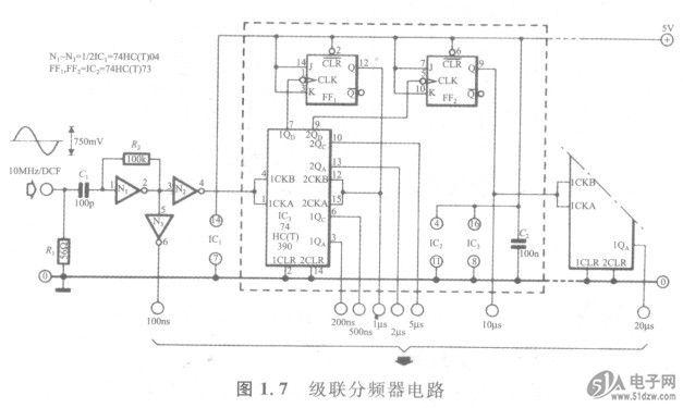 级联分频器电路-技术资料-51电子网