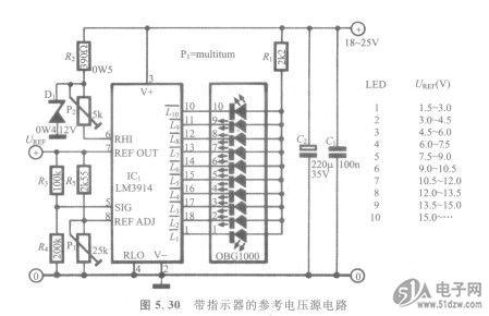 电路的电源电压至少为18v