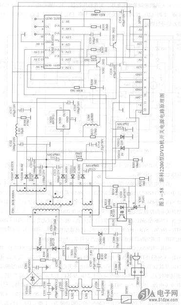 采用光敏电阻的555时基集成电路路灯光电控制器